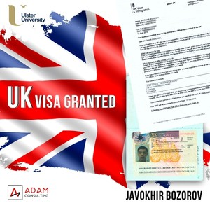 UK Visa Granted!   (3-year bachelor program and 1-year paid internship in London's Company)